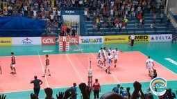 Taubaté derrota Juiz de Fora e fica a um triunfo da semifinal da Superliga