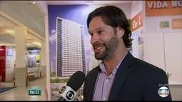 Feira imobiliária no shopping RioMar leva descontos para quem quer sair do aluguel