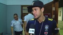 Seleção Brasileira está de folga após goleada sobre Uruguai