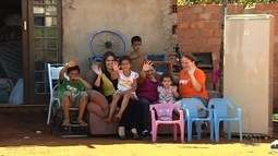 Diarista que vive com 7 filhos consegue doações e novo trabalho, em Aparecida de Goiânia