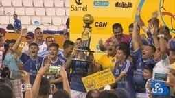 Confira os gols e a comemoração do time campeão da Copa Rede Amazônica 2017
