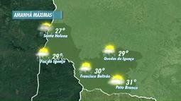 Depois de uma semana ensolarada, o domingo deve ser chuvoso em Foz do Iguaçu