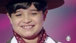 Thomas Machado garante vaga na Final do 'The Voice Kids'