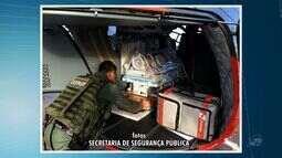 Bebê em situação de emergência é levado a hospital em helicóptero da polícia no Ceará