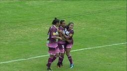 O gol de Ferroviária 1 x 0 Flamengo pelo Campeonato Brasileiro de Futebol Feminino