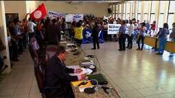 Sessão na câmara de veradores de Petrolina teve protesto