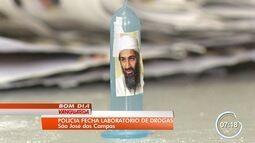 Polícia apreende mais de 35 Kg de cocaína com símbolo do terrorista Bin Laden em S. José