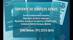 Confira as vagas de emprego do Bom Dia Pará nesta quarta-feira, 29