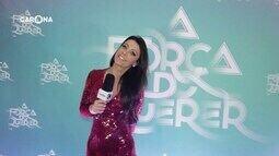 Reveja: Carona participa de festa de lançamento da novela 'A Força do Querer'