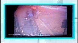 Imagens mostram ação de quadrilha que explodiu caixas em Papagaios