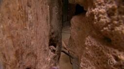 Passagem secreta leva ao lugar onde houve último encontro entre apóstolos