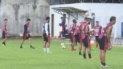 Real Ariquemes treina longe da imprensa e dos torcedores