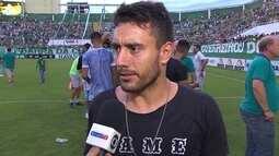 """Alan Rushel comemora título da Chape no 2º turno do Catarinense: """"Todo mundo de parabéns"""""""