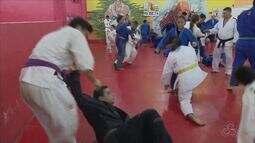 Judocas fazem último treino antes de disputarem o Campeonato Brasileiro Região I no Pará