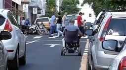 Calçadas de Votuporanga apresentam problemas e incomodam moradores