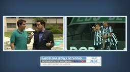 Raphael Rezende espera Barcelona-EQU com dificuldade para propor o jogo contra o Botafogo
