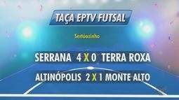 Quatro jogos movimentaram a Taça EPTV de Futsal na região de Ribeirão Preto