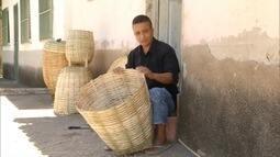Artesanato em Entre Folhas no Vale do Rio Doce, é uma tradição que passa de pai para filho