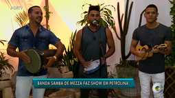Grupo Samba de Mezza se apresenta no GRTV