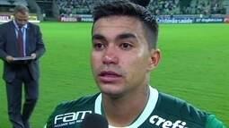 Dudu e Felipe Mello falam após a derrota do Palmeiras e elogiam a torcida