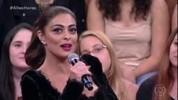 Juliana Paes diz que já trabalhou como modelo