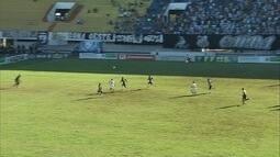 William fuzila goleiro França e marca o segundo do Corumbaense contra o Operário-MS