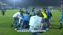 Os gols de Novo Hamburgo 1 (7) x (6) 1 Grêmio pela semifinal do Campeonato Gaúcho