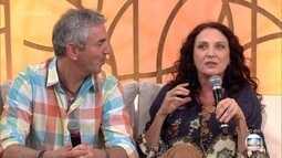 Atriz Débora Olivieri conheceu marido através de um aplicativo de relacionamento