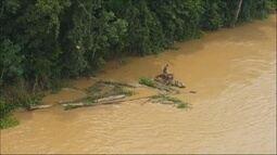 Polícia resgata homem que estava oerdido na selha há três dias em Porto Velho