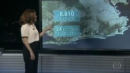 Violência prejudica a educação e a economia de várias partes do Rio
