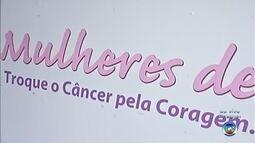 Carreta do programa 'Mulheres do Peito' realiza exames de graça em Itapetininga
