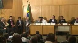 Presidentes de Botafogo e Flamengo batem boca em reunião por Maracanã, na Alerj