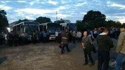 Cinco terminais rodoviários de Piracicaba estão fechados nessa sexta; ônibus não circulam