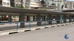Estação da Lapa fica sem ônibus por conta dos protestos desta sexta (28)