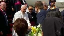 Papa Francisco chega ao Egito com segurança reforçada