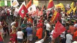 Sexta (28) é marcada por protestos contra as reformas do Goverdo Federal