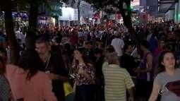 Bancários aderem às manifestações e fecham agências em Rio Preto