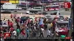 Mais de cem pessoas mandaram vídeos, fotos e áudios sobre as manifestações