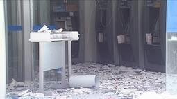 Criminosos explodem duas agências bancárias em Fraiburgo neste sábado (29)