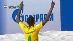 Gol do Brasil! Catarino dribla, e marca mais um gol, 4 a 0