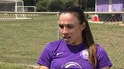 Marta valoriza estrutura do Orlando e diz que pesou na decisão de jogar no clube