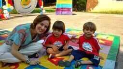 ONG Embaixadores da Prevenção educam as crianças com brincadeiras lúdicas
