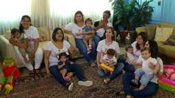 Mães de primeira viagem criam grupo na capital para compartilhar experiências