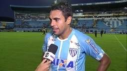 Júnior Dutra lamenta empate em 0 a 0 contra Vitória