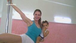 Conheça algumas mães adeptas do pole dance