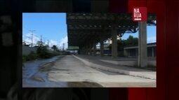 Colaboradores registram que obras do BRT do Recife estão paradas