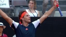 Dominic Thiem vence Nadal e avança para a semifinal do Masters 1000 de Roma