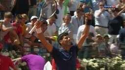 Melhores momentos de Juan Martin del Potro 0 x 2 Novak Djokovic pelo Masters 1000 de Roma