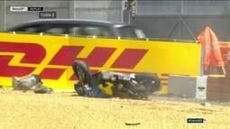 Australiano Jack Miller sofre acidente impressionante na Moto GP