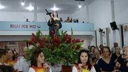 Santa Rita de Cássia é homenageada por fiéis de Montes Claros